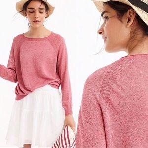 J. Crew Kate Linen pullover